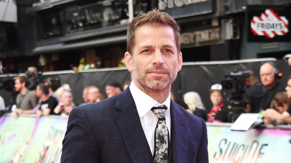 "Zack Snyder is currently deep in the weeds of the DC superhero universe as he puts the finishing touches on the famed '<a href=""https://uk.movies.yahoo.com/tagged/snyder-cut"" data-ylk=""slk:Snyder Cut"" class=""link rapid-noclick-resp"">Snyder Cut</a>' of <em>Justice League</em>. Before that, he shot this zombie thriller with Netflix, which provides a slightly different perspective on the apocalypse. The story follows a team of mercenaries plotting an ambitious casino heist under the cover of zombie-induced chaos. Dave Bautista leads the cast and there are already <a href=""https://uk.movies.yahoo.com/zack-snyders-army-of-the-dead-to-get-prequel-and-anime-series-at-netflix-122430708.html"" data-ylk=""slk:multiple spin-offs;outcm:mb_qualified_link;_E:mb_qualified_link;ct:story;"" class=""link rapid-noclick-resp yahoo-link"">multiple spin-offs</a> in development. (Credit: David M. Benett/WireImage)"