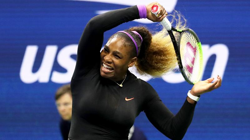 Serena Williams showed her class to win from a set down.