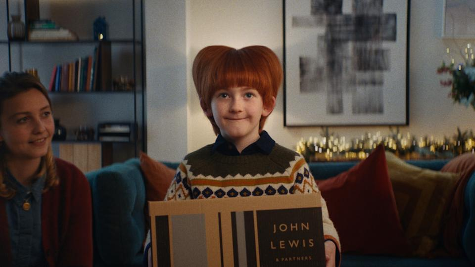 The advert was inspired by the public's reaction to the COVID-19 pandemic. (John Lewis/Waitrose)