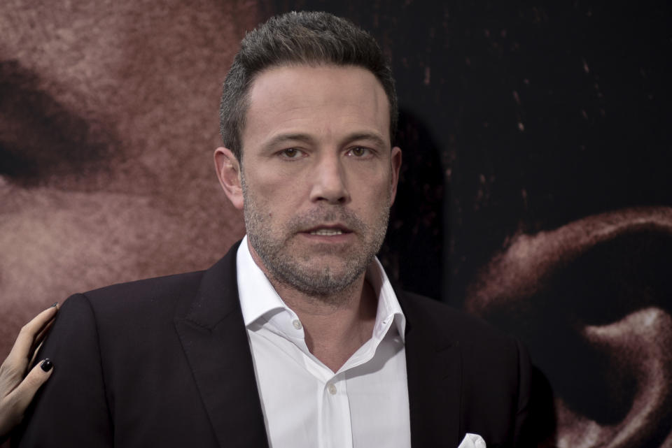 Ben Affleck attends the LA premiere of