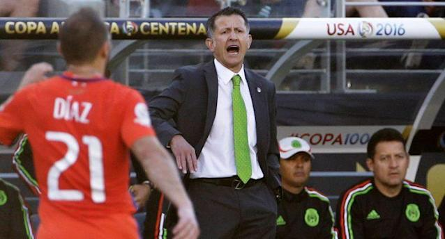 Osorio on Chile's domination of Mexico: 'They were better than us.' (AP)