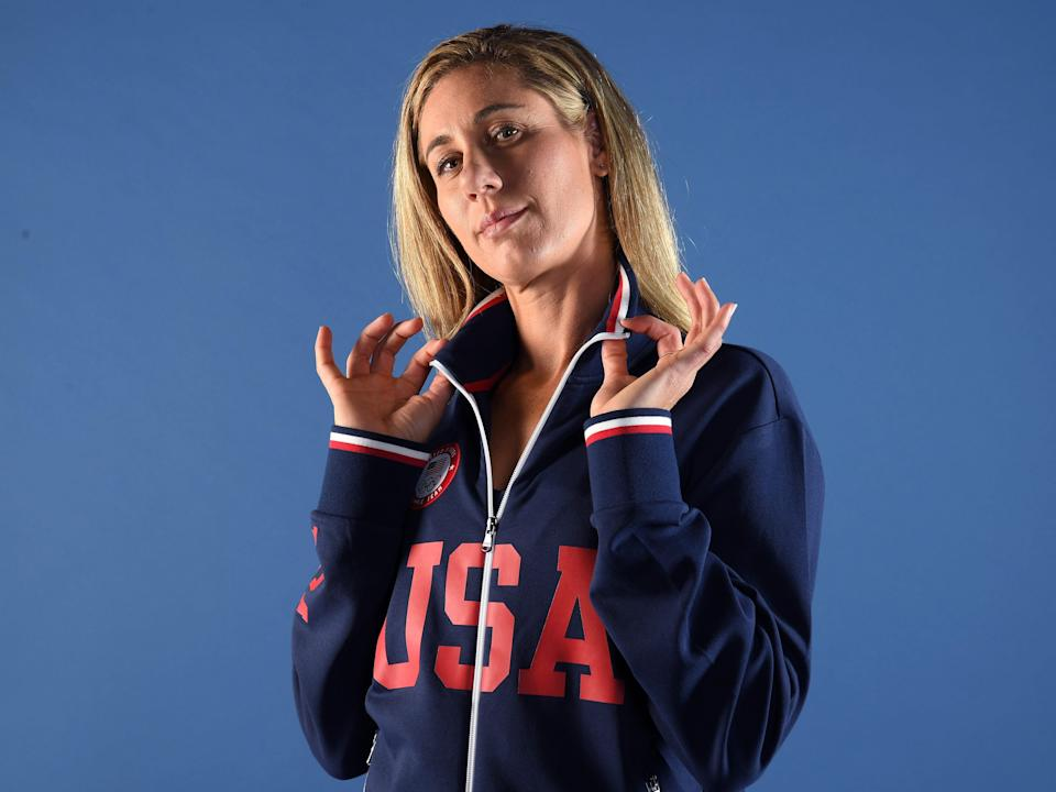 Olympic volleyball player April Ross