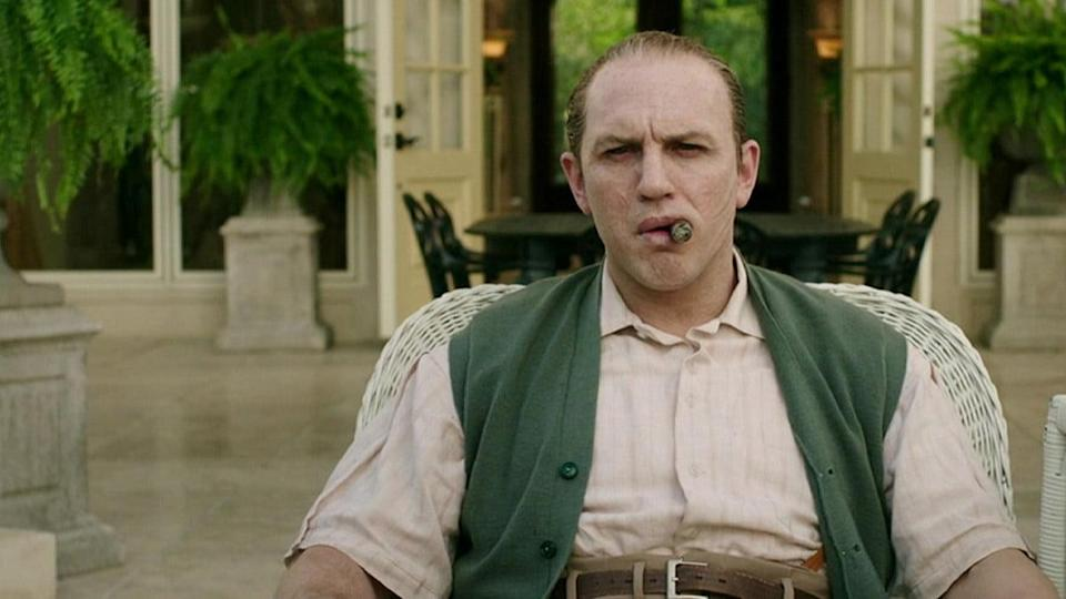 Tom Hardy in Capone on Amazon Prime