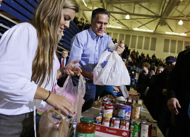 Romney faces scrutiny on aid in storm's wake