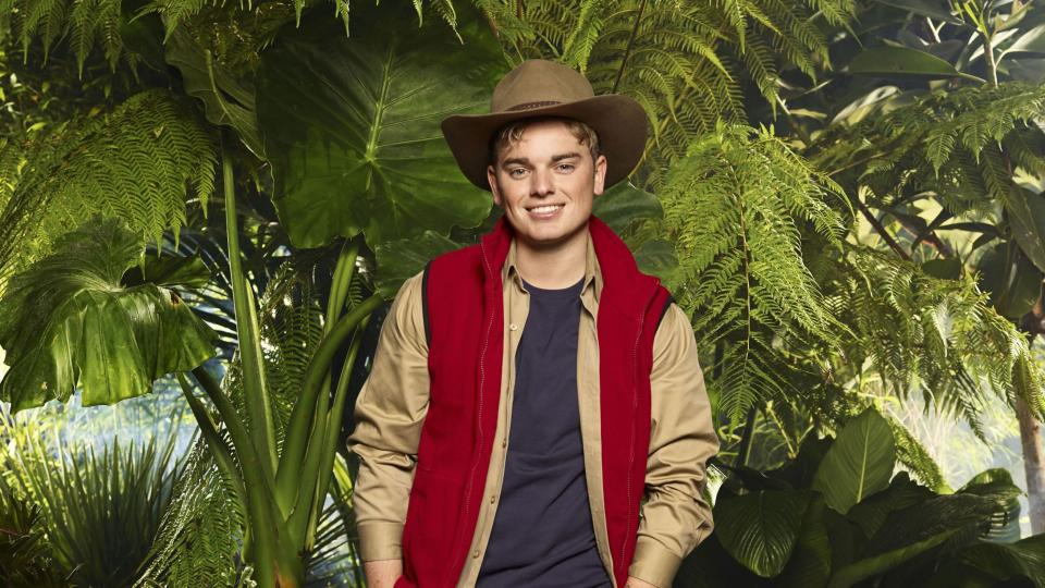 Jack lasted less than three days in the jungle. Copyright: [ITV]