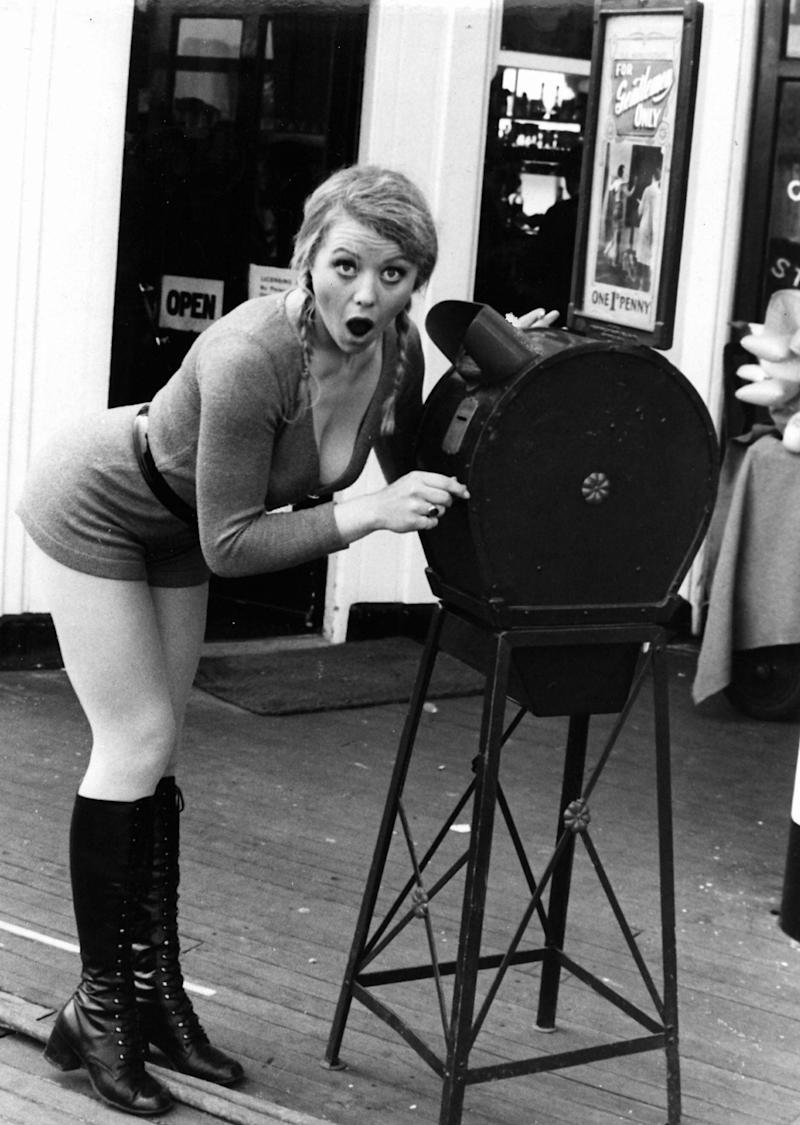 Margaret Nolan in Carry On at Your Convenience - ITV/Shutterstock