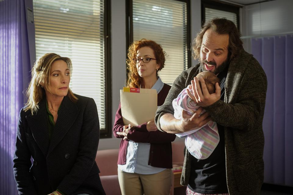 Claudia Karvan and Angus Sampson in Bump