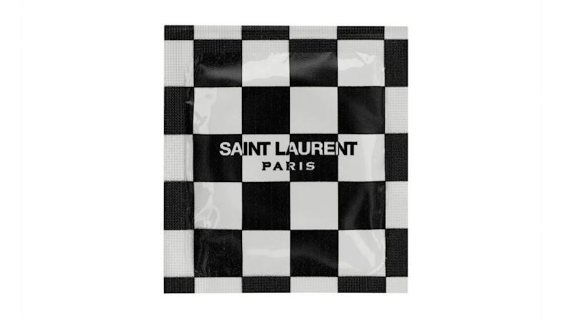 Saint Laurent Condom—Checks
