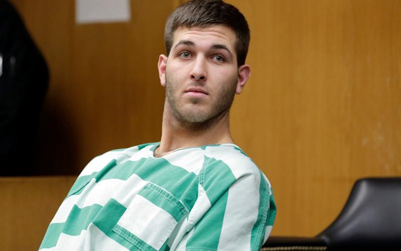 Anthony Comello appears for his extradition hearing in Toms River, New Jersey - AP