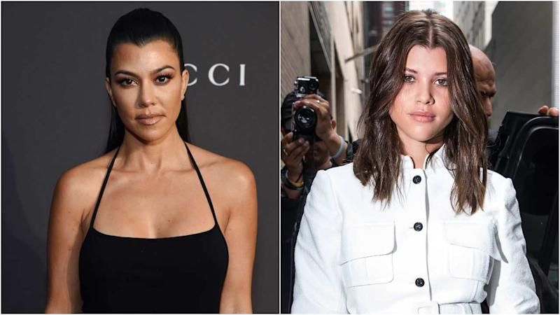 f9c450eb90 Kourtney Kardashian and Sofia Richie Spotted at Beverly Hills Spa Together