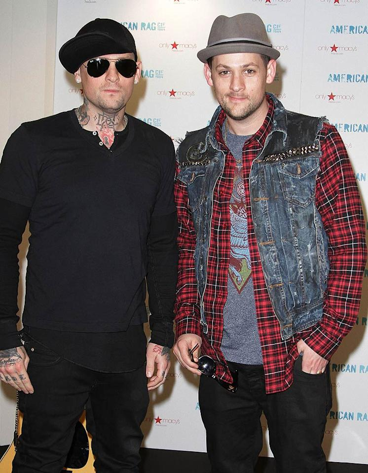 """March 11: Benji Madden and Joel Madden turn 32 Alexander Tamargo/<a href=""""http://www.gettyimages.com/"""" target=""""new"""">GettyImages.com</a> - January 15, 2011"""
