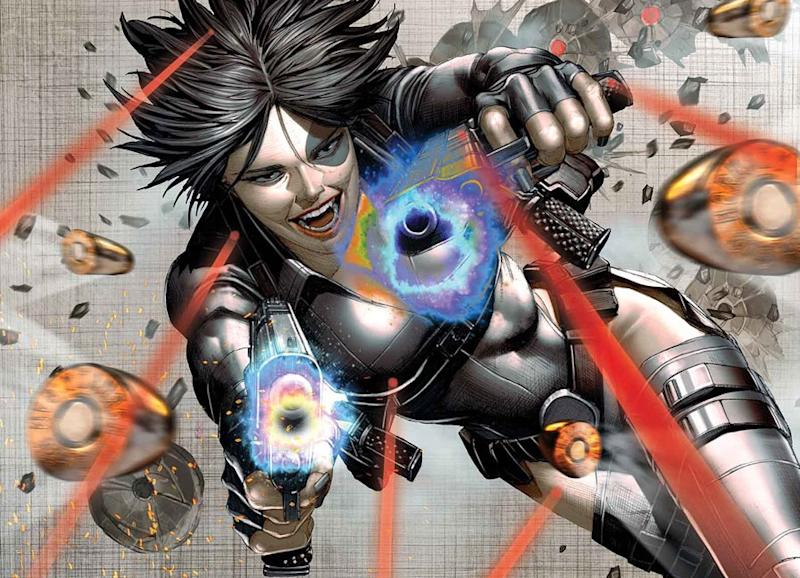 Domino in 'X-Force' (credit: Marvel)