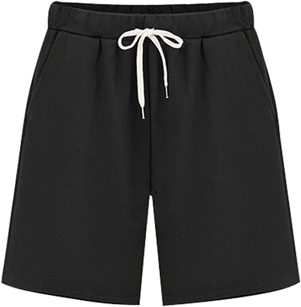 """<h2>Boncasa Colorblock Ribbed Tunic<br></h2><br>""""We're constantly in search of the next 'viral' Amazon fashion find — still chasing the high of the Orolay coat after all these years. I am <em>very</em> excited to nominate these jersey basketball shorts, discovered by our intrepid contributor Ray Lowe in our roundup of <a href=""""https://www.refinery29.com/en-us/2020/10/10088461/womens-cozy-sweaters-outerwear-deals-amazon-prime-day-2020"""" rel=""""nofollow noopener"""" target=""""_blank"""" data-ylk=""""slk:cozy Prime Day scores"""" class=""""link rapid-noclick-resp"""">cozy Prime Day scores</a>. I am like, <em>quivering</em> with excitement to receive them in the mail — and so is Ray, who just told me that she ordered them, too!"""" <br><br><em>— Emily Ruane, Fashion Market Writer</em><br><br><strong>XinYangNi</strong> Jersey Bermuda Shorts with Drawstring, $, available at <a href=""""https://amzn.to/375FUi3"""" rel=""""nofollow noopener"""" target=""""_blank"""" data-ylk=""""slk:Amazon"""" class=""""link rapid-noclick-resp"""">Amazon</a>"""