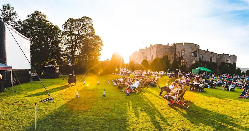 (Big screen buzz: Adventure Cinema's tour includes Chirk Castle in Wales and Streatham Common)