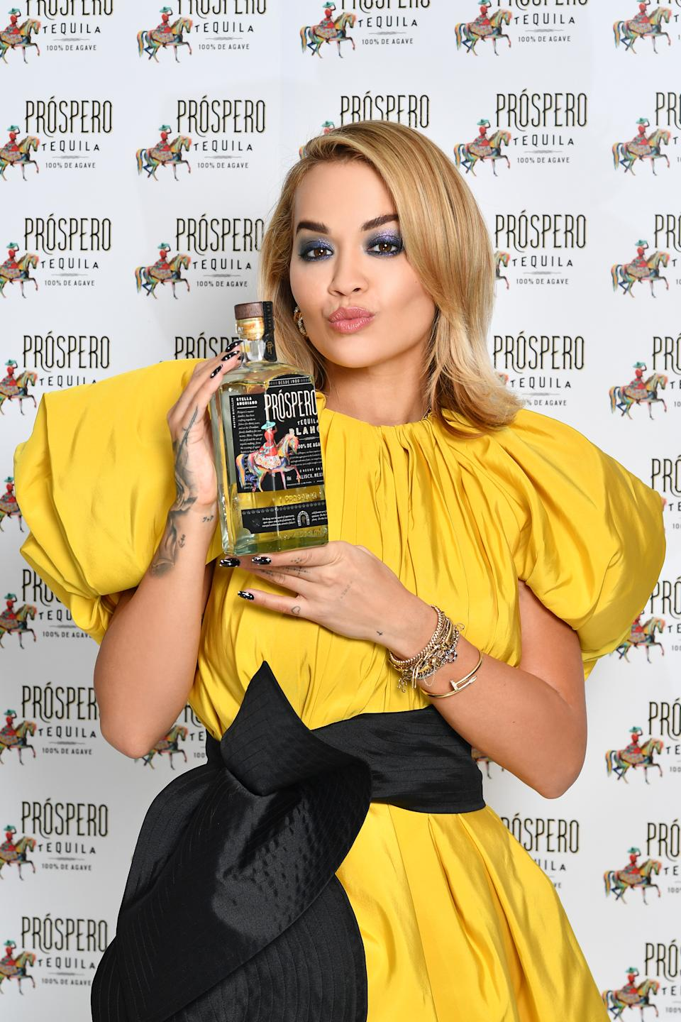 Rita Ora launched her own brand of tequila in the week she turned 30 (Photo by Gareth Cattermole/Getty Images for ABA)