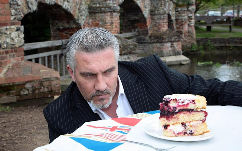 Paul Hollywood is a masculine role model for wannabe bakers - PA WIRE