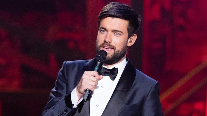 Jack Whitehall presenting the Brit Awards in 2020