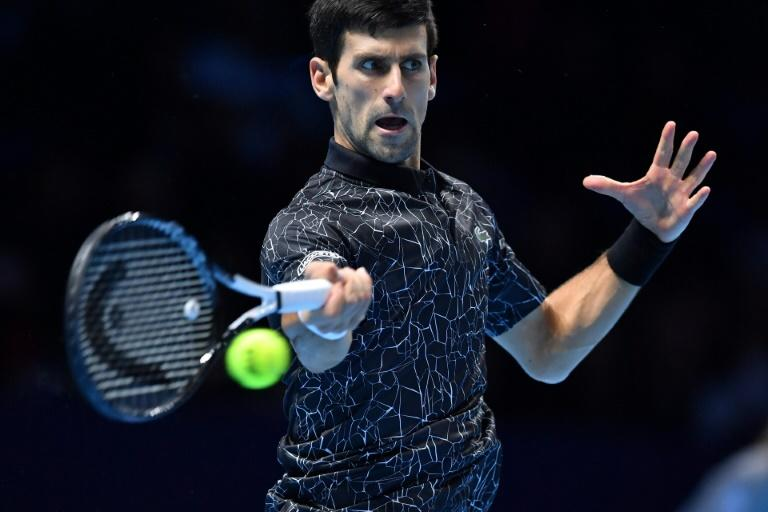 Novak Djokovic remains on course for his sixth ATP Finals title
