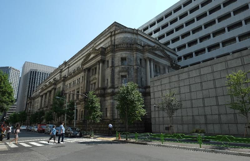 The Bank of Japan, which has cut its inflation forecasts, had already dropped a 2020 date for achieving its two-percent target rate