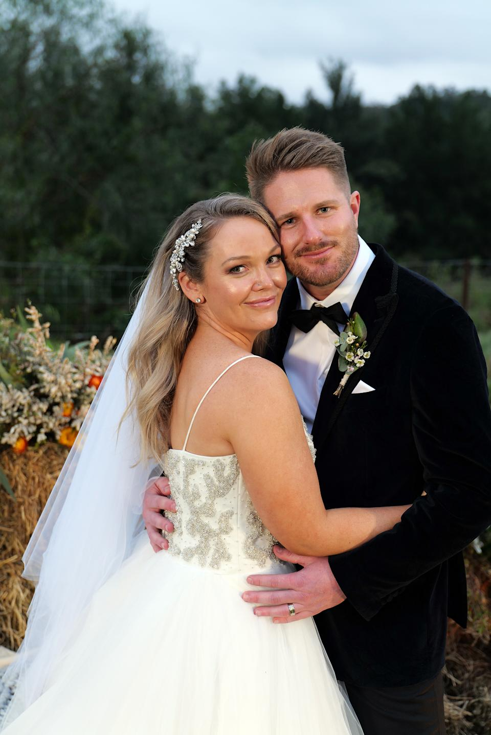 Bryce and Melissa from Married at First Sight