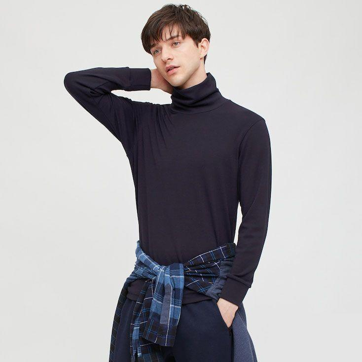 """<p>uniqlo.com</p><p><strong>$29.90</strong></p><p><a href=""""https://go.redirectingat.com?id=74968X1596630&url=https%3A%2F%2Fwww.uniqlo.com%2Fus%2Fen%2Fmen-heattech-ultra-warm-turtleneck-long-sleeve-t-shirt-429020.html&sref=https%3A%2F%2Fwww.menshealth.com%2Fstyle%2Fg25171257%2Fbest-thermal-shirts-for-men%2F"""" rel=""""nofollow noopener"""" target=""""_blank"""" data-ylk=""""slk:BUY IT HERE"""" class=""""link rapid-noclick-resp"""">BUY IT HERE</a></p><p>Protect your neck in this turtleneck thermal that Uniqlo says is more than two times warmer than its regular HEATTECH technology. Crafted with a tight fit to retain body heat, size up if you're looking to wear it as a casual tee. It's sweat-wicking, so definitely appropriate for sports, though the style is spectator-worthy, too.</p>"""