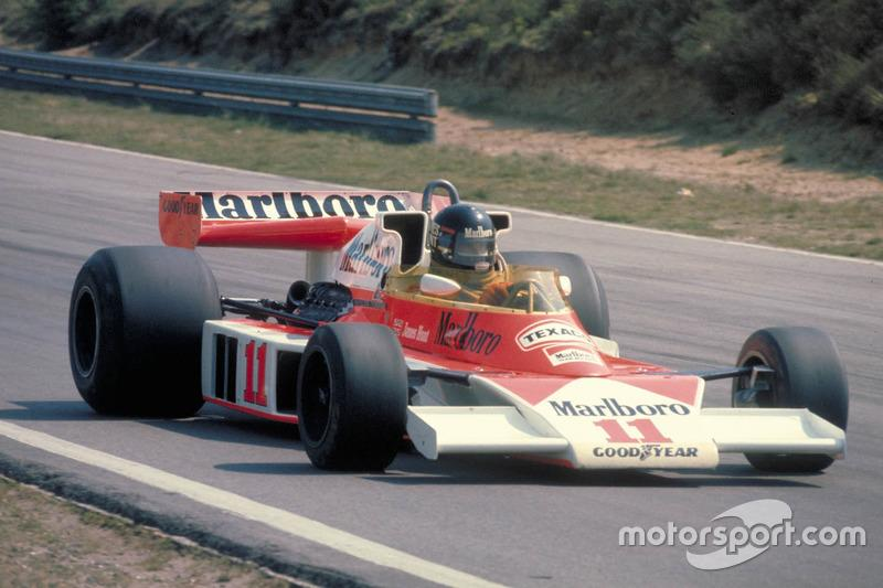 """James Hunt (1976)<span class=""""copyright"""">Ford Motor Company</span>"""
