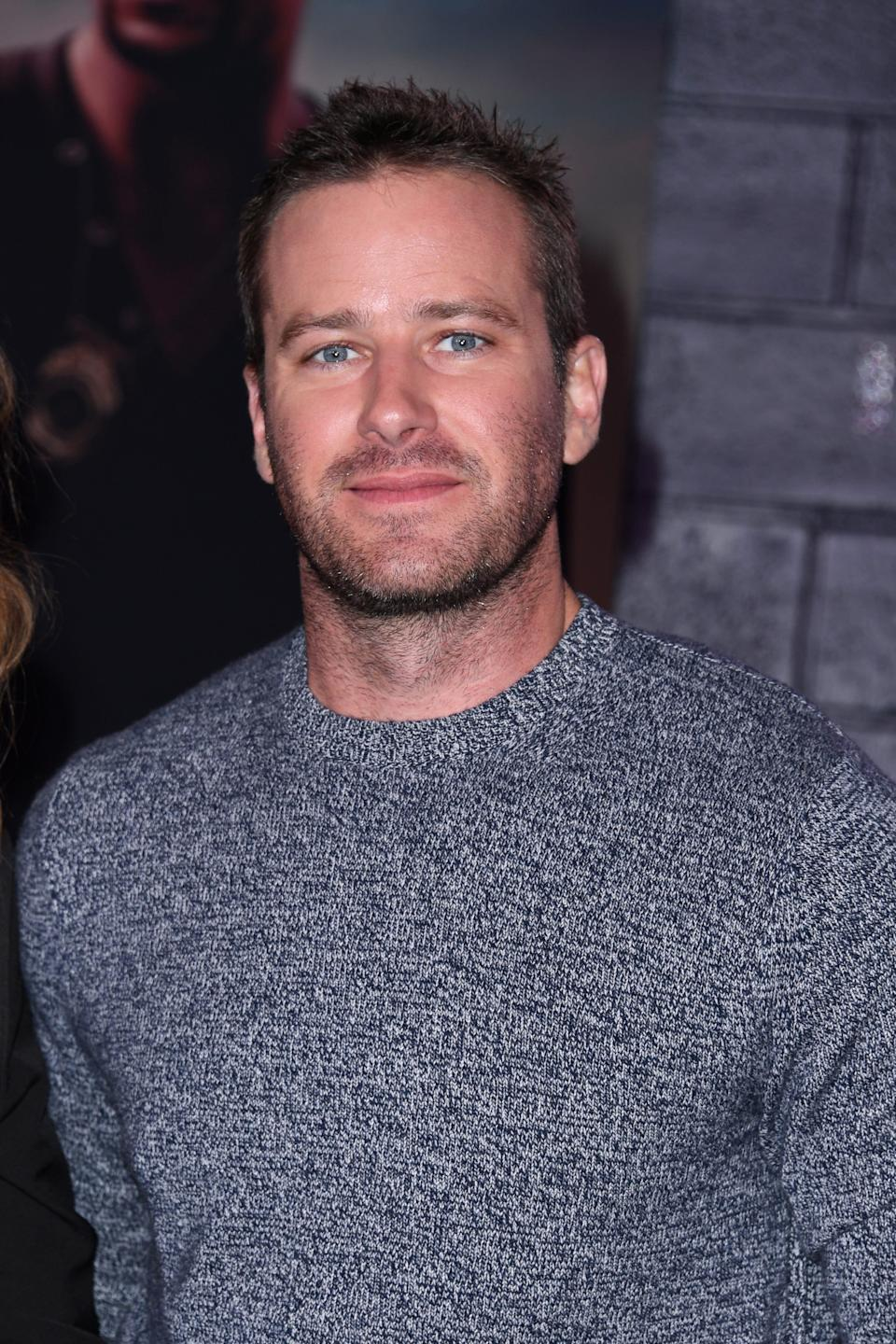 """Armie Hammer was originally slated to star in """"Shotgun Wedding,"""" but confirmed his exit fromthe film after controversial Instagram messages he allegedly sentdetailing sexual fantasies went viral."""