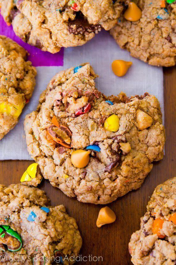 <strong>Get the <span>Loaded Oatmeal Cookies recipe</span>fromSally's Baking Addiction</strong>