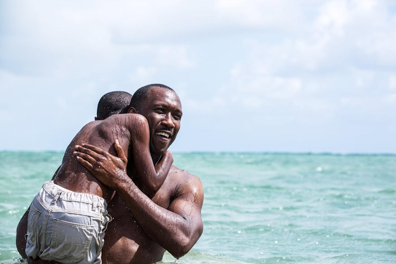 <p> Juan (Mahershala Ali) teaching Chiron (Ashton Sanders) to swim as he learns to keep his head above water is arguably one of the most symbolic and beautiful scenes in <strong>Moonlight</strong>. </p>