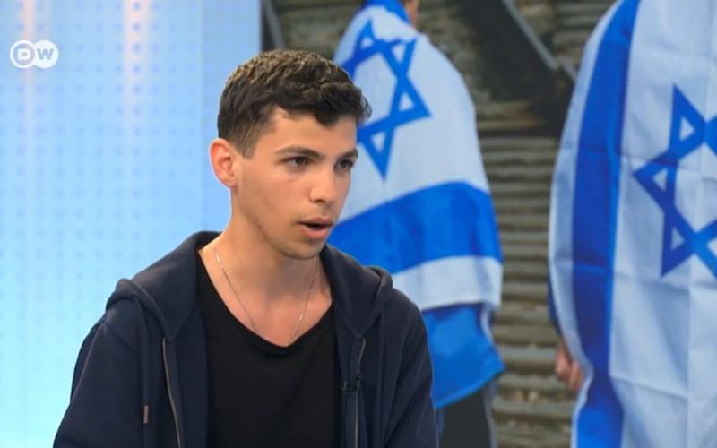 Adam Armoush saidhe was wearing a Jewish kippah skullcap in an attempt to prove it was safe