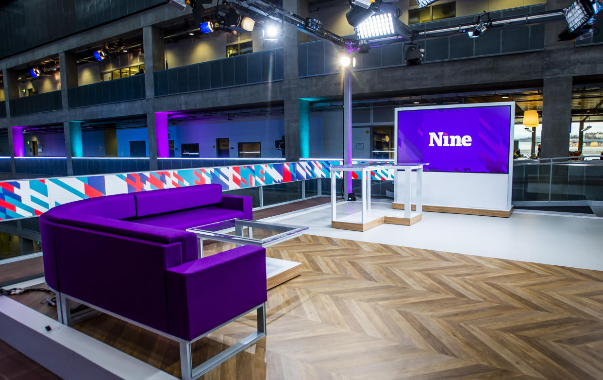 Douglas Ross challenged BBC Scotland bosses on viewing figures for The Nine news programme (Alan Peebles/BBC/PA)