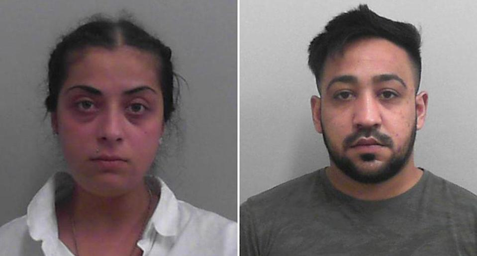 Christiana Tudor-Dobre, 24, and Ion Boboc, 26, face jail time. Source: Avon and Somerset Police