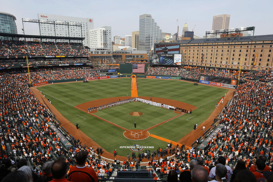 The Orioles and Twins played an 11-inning game on opening day 2018. (AP Photo/Patrick Semansky)