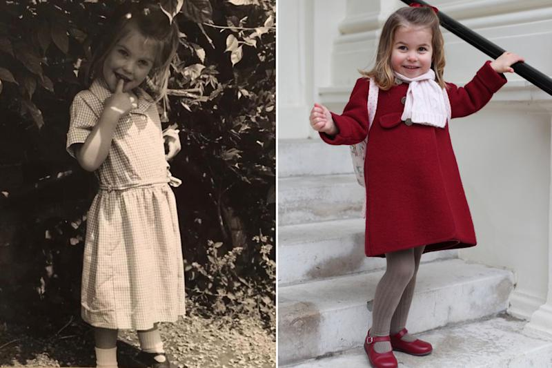 Princess Charlotte Looks Like Princess Diana's Niece in Throwback Photo
