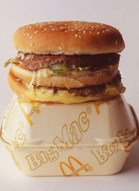 "<p> McDonald's started serving their <a href=""https://www.goodhousekeeping.com/food-recipes/g1553/burger-recipes/"" rel=""nofollow noopener"" target=""_blank"" data-ylk=""slk:game-changing burger"" class=""link rapid-noclick-resp"">game-changing burger</a>, The Big Mac, in Uniontown, PA after previously trying to market it as The Aristocrat and Blue Ribbon Burger. </p>"