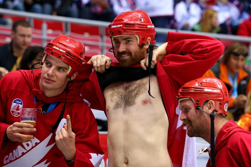 Ice Hockey Gold Medal - Sweden v Canada