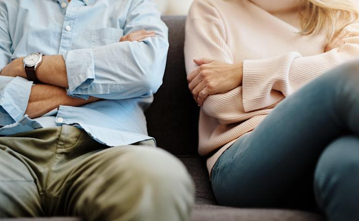 <p>Enquiries to legal firms about divorce have doubled during the pandemic</p> (Getty Images/iStockphoto)