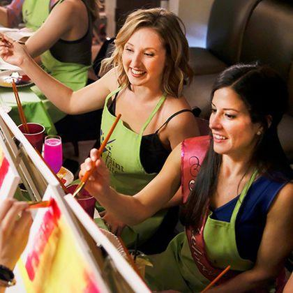 """<p><a rel=""""nofollow"""" href=""""https://www.groupon.com/"""">SHOP NOW</a></p><p>Even though you're technically getting her a gift card, she'll love the idea of spending a quality time with you painting and having a glass of wine... or two!</p><p><em>Prices vary, <a rel=""""nofollow"""" href=""""https://www.groupon.com/"""">groupon.com</a></em></p>"""
