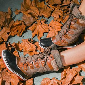 Amazon's Dream Pairs Women's Mid-Calf Winter Snow Boots are a must-have for cold weather.
