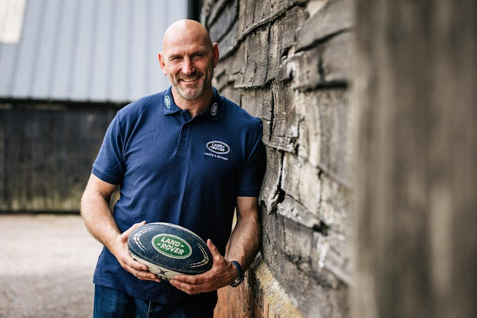 Three-time Lion Lawrence Dallaglio, 48, is urging the British public to get behind Land Rover's innovative campaign