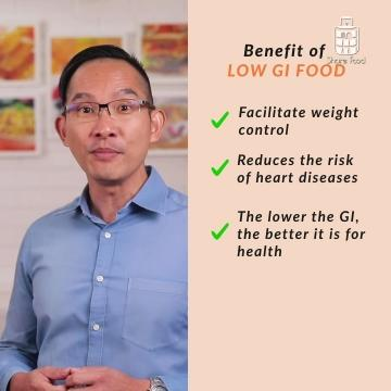 Health benefits of eating low GI foods