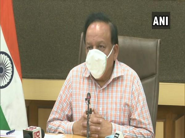 Union Minister for Science Technology, Earth Sciences, Health and Family Welfare Dr Harsh Vardhan (Photo/ANI)