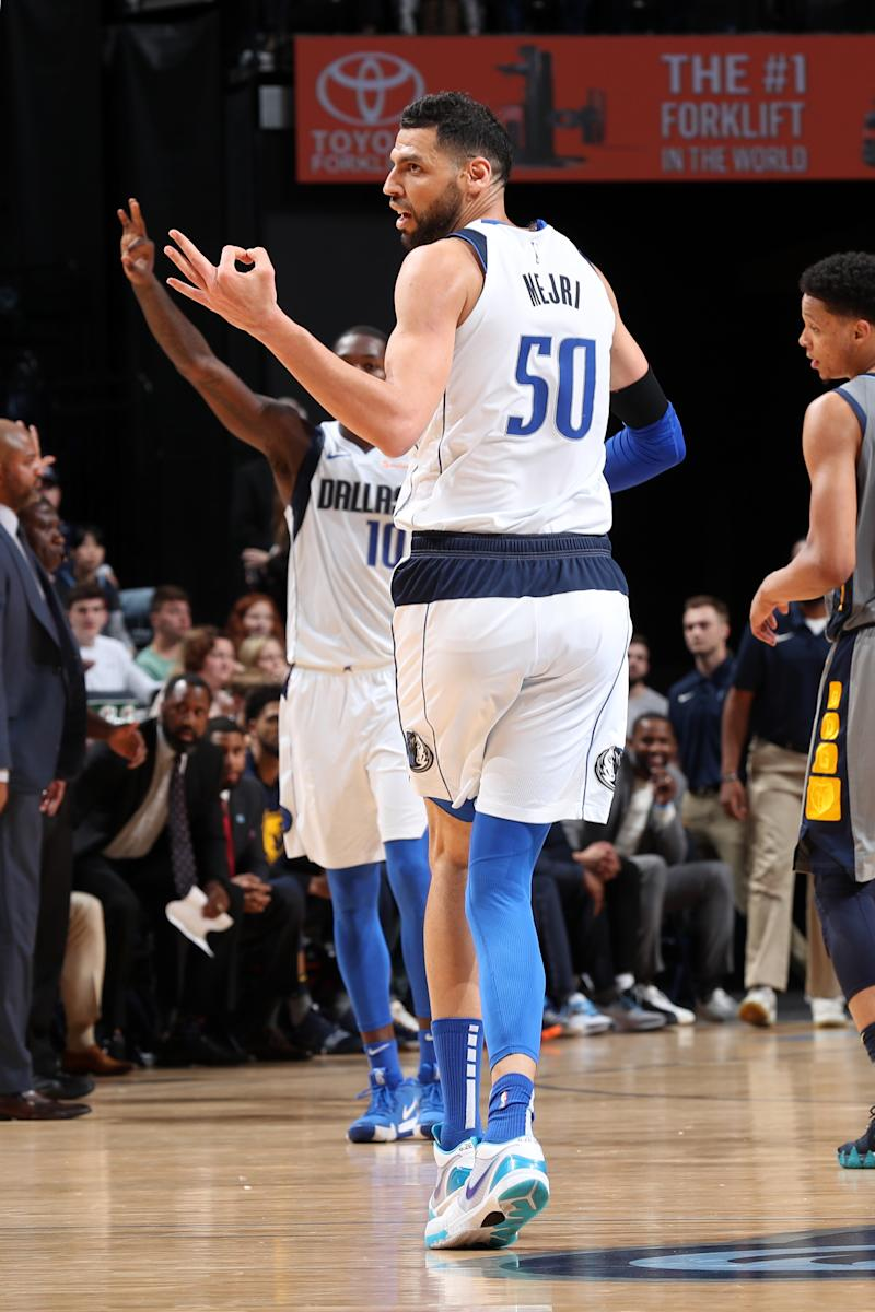 Mejri, Burke lead Mavericks past Grizzlies 129-127 in OT