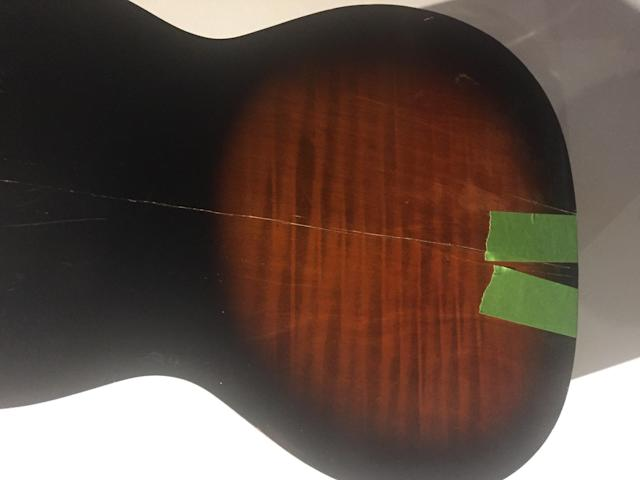 """Khosla used this guitar to score many of Jack's scenes for Season 2 of """"This Is Us."""" (Siddhartha Khosla)"""