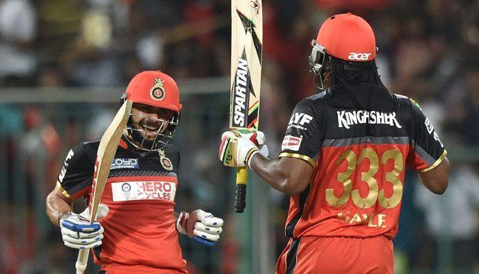 Gayle became the face of RCB