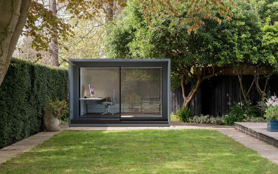An eco-friendly modular garden room by Modulr Space, from £17,500