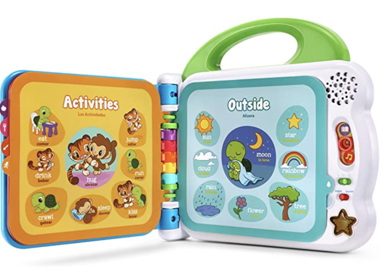 LeapFrog Learning Friends 100 Words Book, Green. (PHOTO: Amazon)