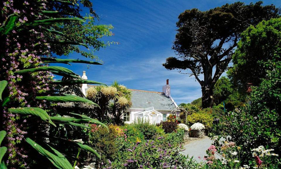 'Gloriously remote': the White House Hotel is on the car-free island of Herm, three miles off Guernsey.