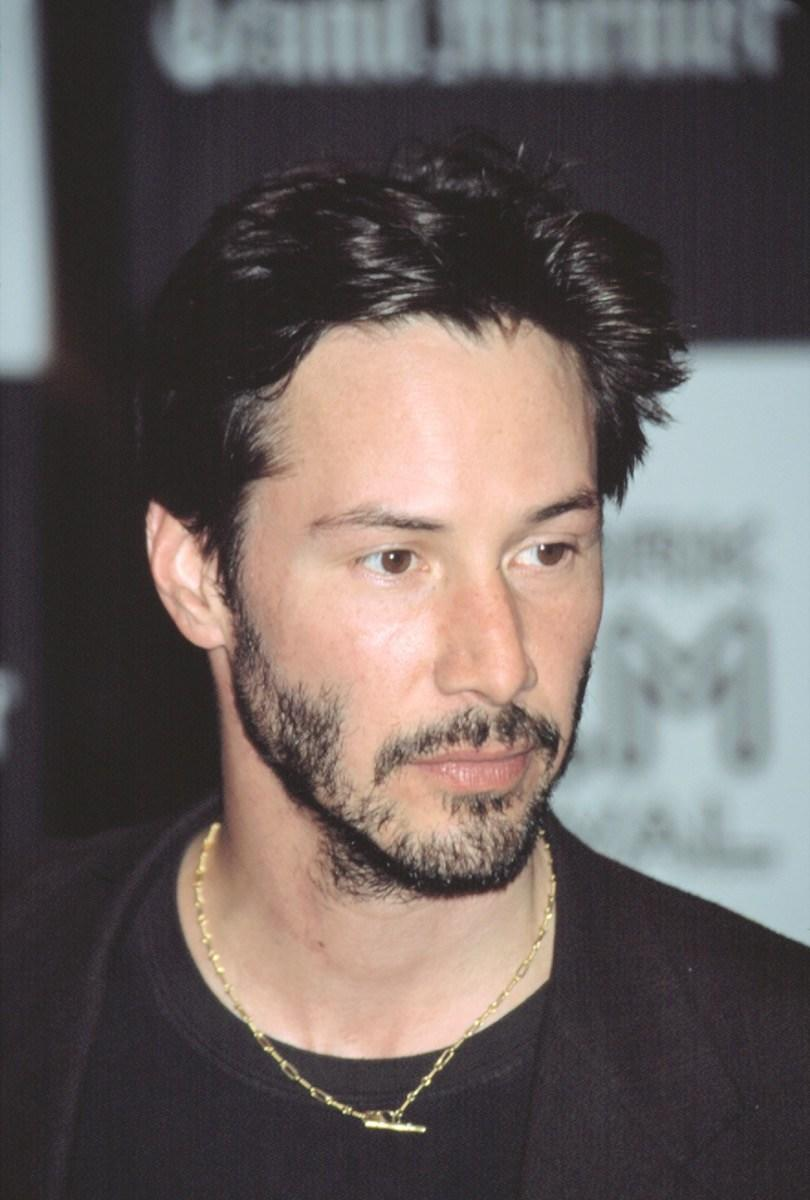 keanu reeves 2000s, male icon