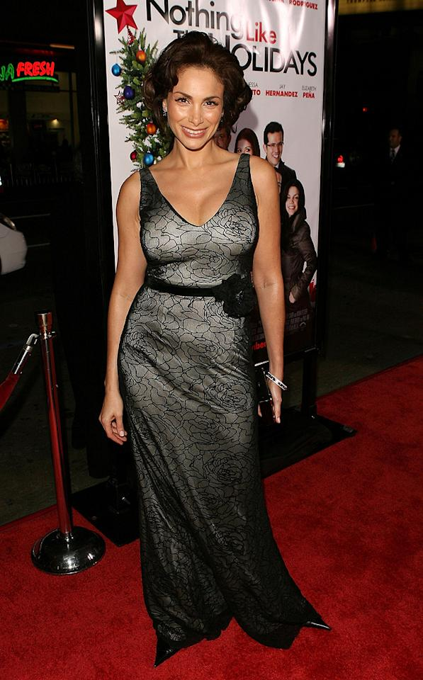 """<a href=""""http://movies.yahoo.com/movie/contributor/1809195417"""">Patricia De Leon</a> at the Los Angeles premiere of <a href=""""http://movies.yahoo.com/movie/1809991685/info"""">Nothing Like the Holidays</a> - 12/03/2008"""
